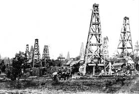 Old Oil Wells